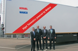 Kögel Telematics: стеження за вантажем
