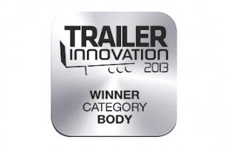 Гибридный быстродействующий затвор  Kögel получает отраслевую награду Trailer Innovation 2013