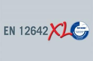 Стійкість кузова згідно DIN EN 12642 «Code XL»