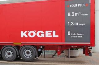 Транспортная компания Ansorge тестирует новый тип полуприцепа Kögel Euro Trailer