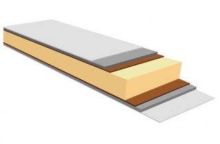 Конструкция сэндвич-панелей рефрижераторов Kögel