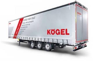 Преимущества шторного полуприцепа KÖGEL SNСО TIR с XL сертификатом