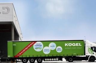 Успішне тестування напівпричепа Kögel з модулем СПГ