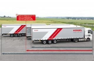 Подовжений напівпричіп Euro-Trailer – концепція Kögel
