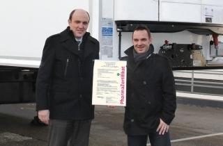 Сертифіковані рефрижератори Kögel для фармацевтичної логістики
