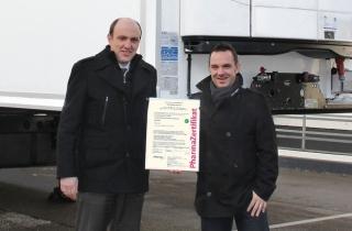 Сертифицированные рефрижераторы Kögel для фармацевтической логистики